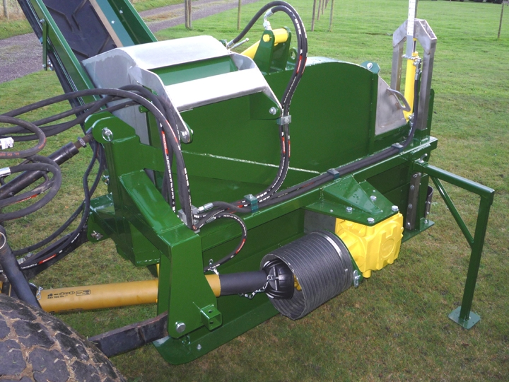 Shelton Supertrencher 450 PTO shaft view