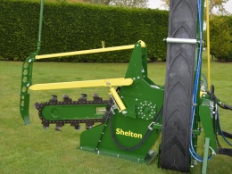Chain Trencher CT100 by Shelton Drainage