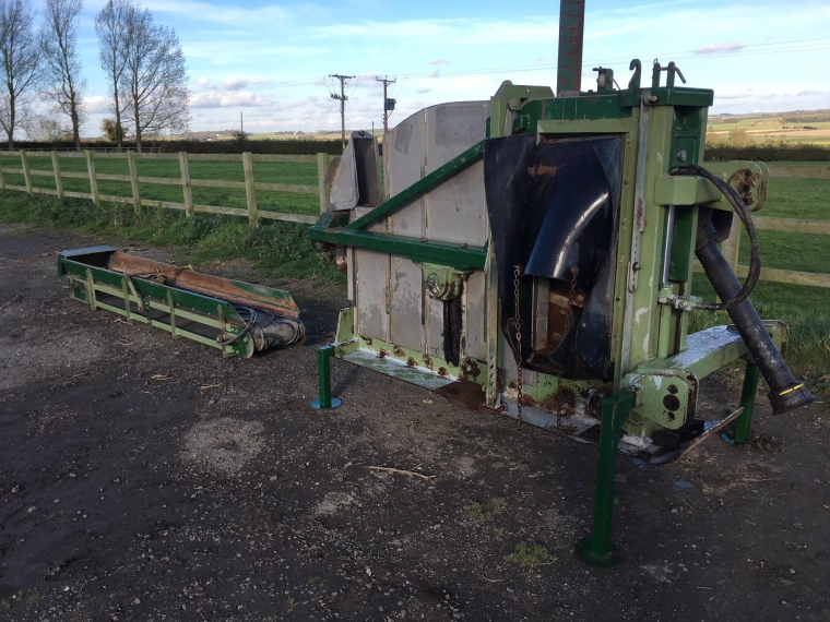 Used Shelton Supertrencher 625