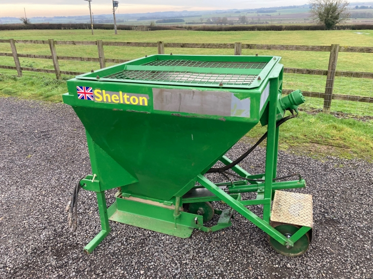 Used Sand Placement Hopper from Shelton