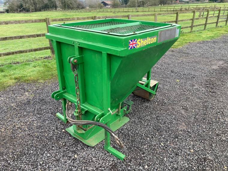 Used Shelton Sand Placement Hopper