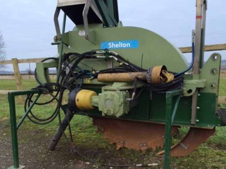 used drainage machinery sheltons drainage