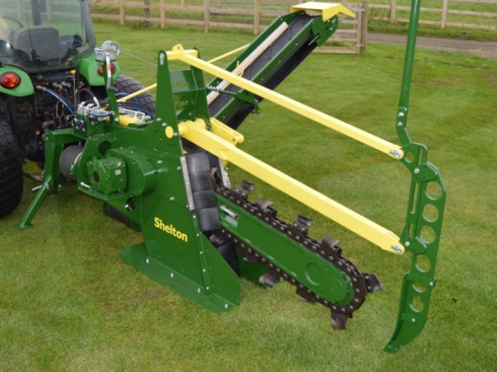 The Shelton CT100 Chain Trencher
