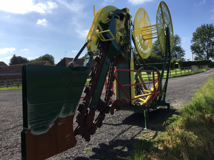 Used CT150 Agri Chain Trencher
