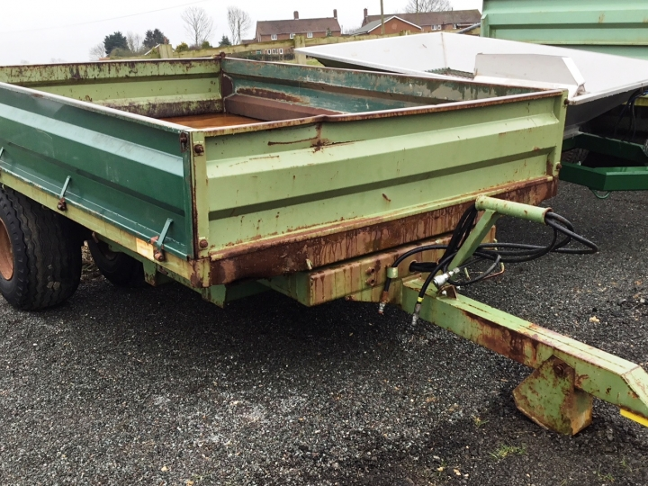 Used Shelton Hi-Lift Trailer
