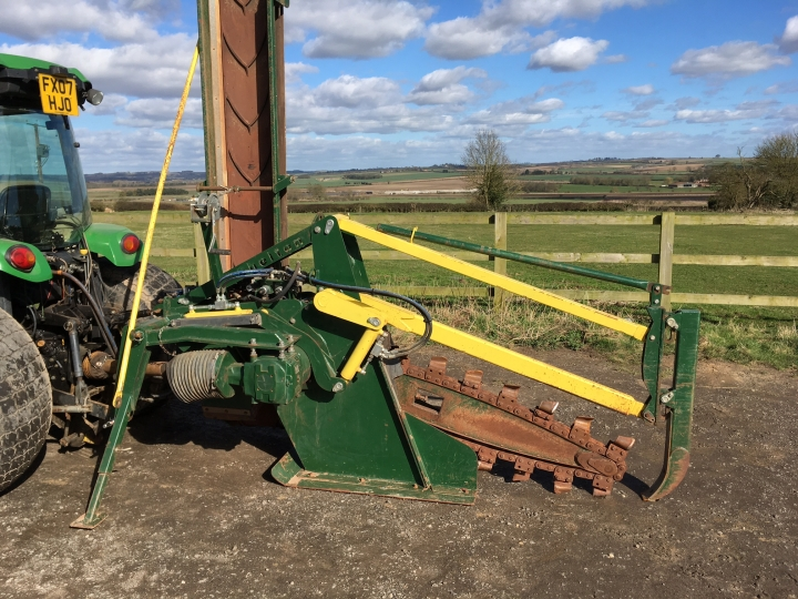 Used Shelton Chain Trencher