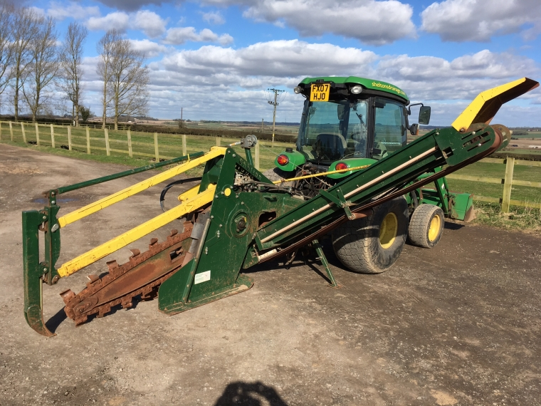 Used Shelton Chain Trencher 2014