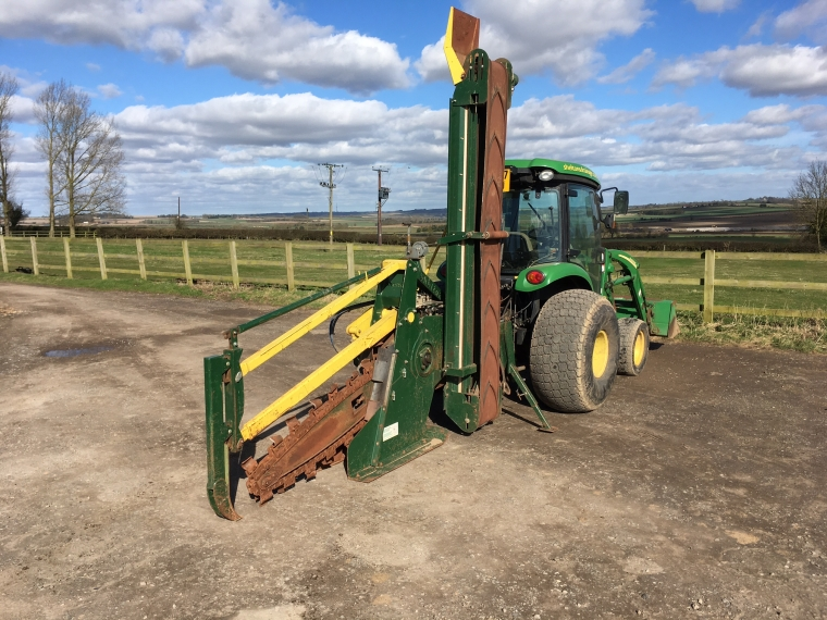 Used 2014 Shelton Chain Trencher