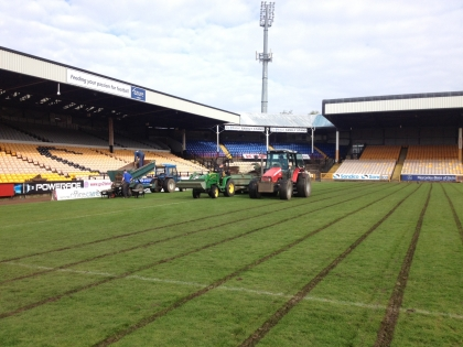 Port vale drain to Gain with Sheltons machinery