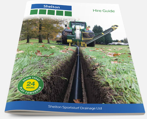 Thumbnail for Shelton Sportsturf Drainage Machinery Hire Guide 2017
