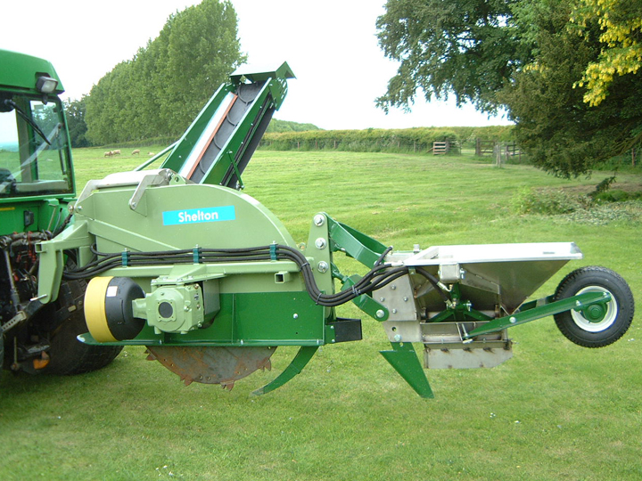 Used System 25 Trencher
