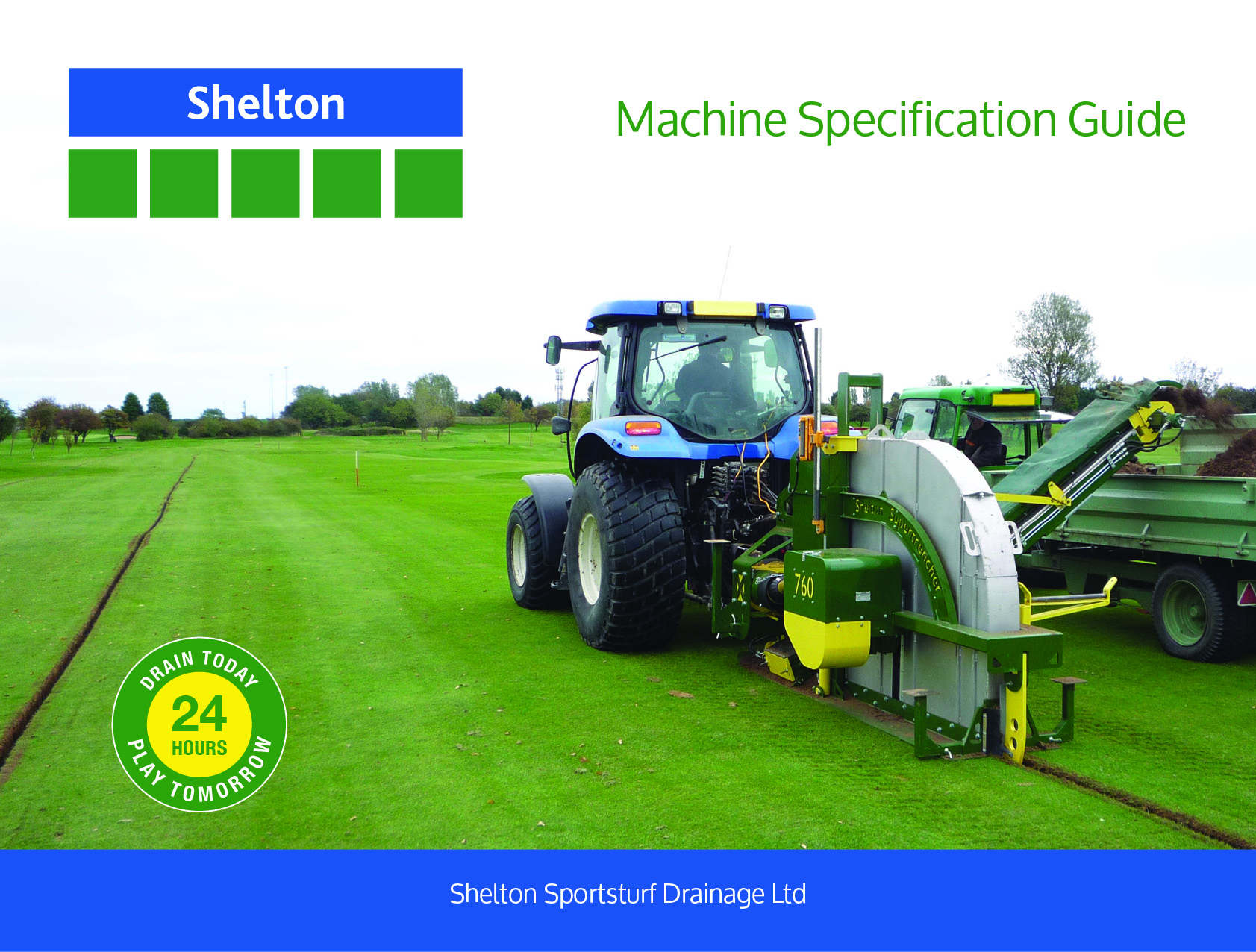 Thumbnail for Shelton Sportsturf Machine Specification Guide