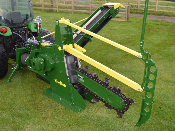 Used  Chain Trencher