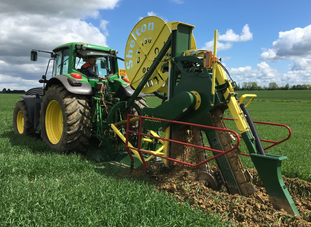 Shelton CT150 Agri Chain Trencher