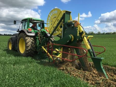 CT150 agricultural trencher