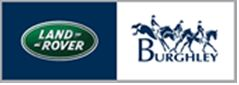 Land Rover and Burghley logos