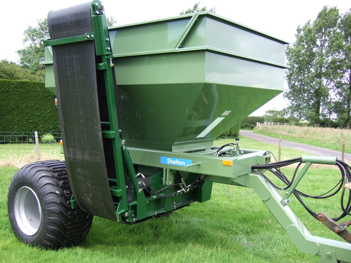 6 Tonne Universal Sand and Gravel Hopper