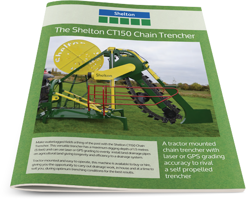 Thumbnail for Shelton CT150 Chain Trencher leaflet